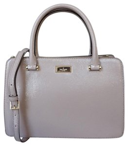 Kate Spade Lise Bixby Place Strap Satchel in Moussefrost Beige