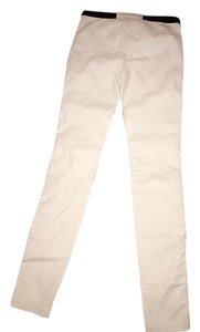 MILLY Skinny Pants White