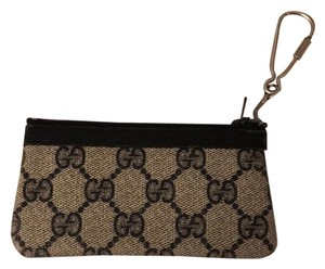 Gucci Wristlet in Navy/ White