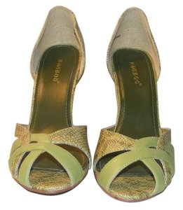 Bamboo Green Wedges