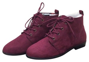 Forever 21 Burgandy red Boots
