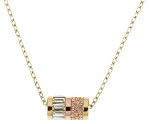 Michael Kors NWT Pave Barrel Necklace MKJ1902931