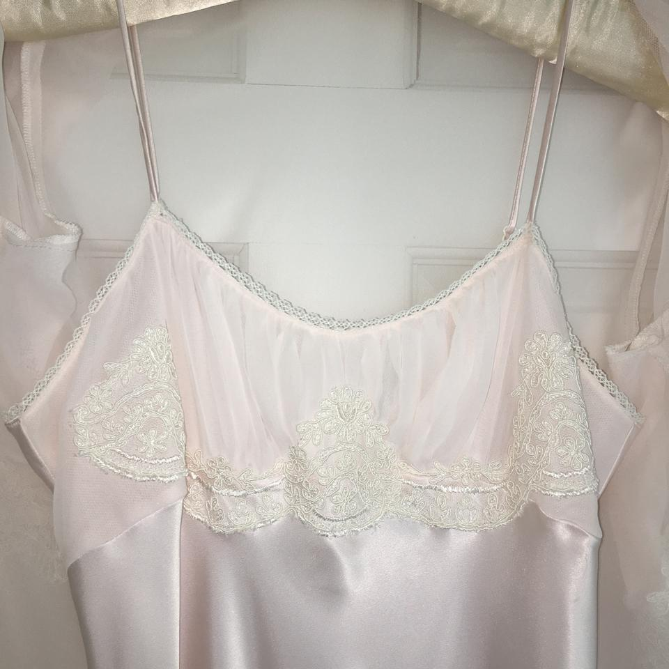 Soft Pink Maxi Dress by Other Nightgown Sheer Lingerie Nighty Sleepwear.  123456789101112 b529aa8ab