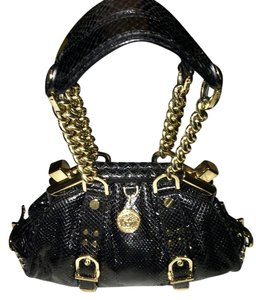 Versace Tote in Black-Gold