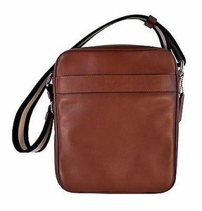 Coach Brown Leather Cross Body Bag