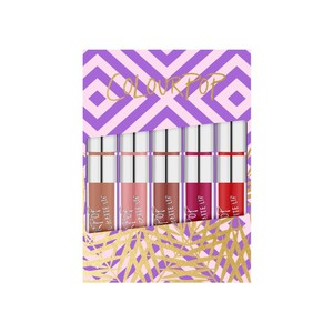 colourpop foxy set of 5 ultra matte lip
