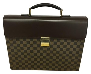 Louis Vuitton Lv Altona Pm Damier Canvas Satchel in brown