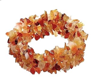 Other Stylish Genuine Orange Agate Bracelet