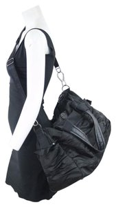 Lululemon Black Gym Yoga Duffle Hobo Bag