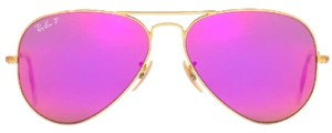 Ray-Ban Aviator RB3025 112/4T Matte Gold frame/ Pink Mirror Lens