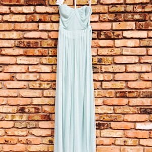David's Bridal Mint Dress
