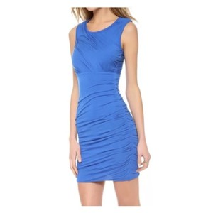 Diane von Furstenberg short dress Dark Lapis on Tradesy