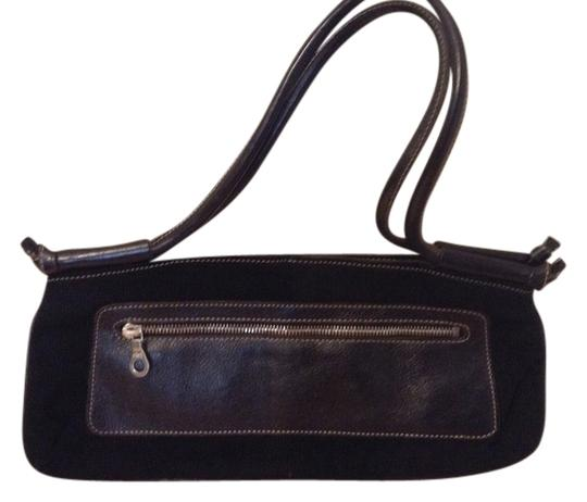 Preload https://item4.tradesy.com/images/christopher-kon-black-leather-and-corduroy-clutch-2022193-0-0.jpg?width=440&height=440