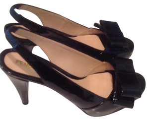Fendi Black patent leather Pumps