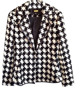 Greylin Black and White Blazer
