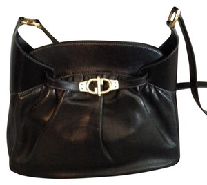 Gucci Leather Vintage Tote in Black