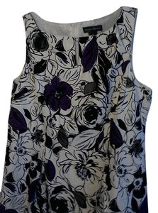 Jessica Howard short dress White black purple on Tradesy