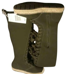 H&M Dark green Boots
