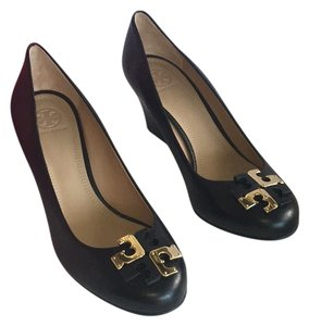 Tory Burch Logo BLACK Pumps