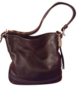 Coach Leather Hobo Bag