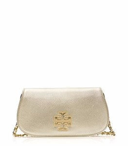 Tory Burch gold Clutch