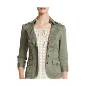 White House | Black Market Olive Green Blazer