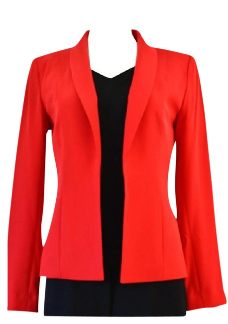 Preload https://img-static.tradesy.com/item/20222464/calvin-klein-red-jacket-pant-suit-size-6-s-0-2-650-650.jpg