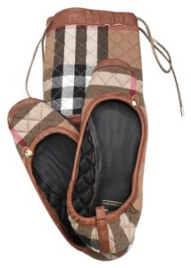 Burberry BURBERRY CHECK QUILT SLIPPERS US M
