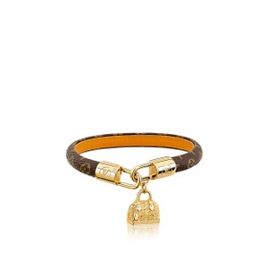 Louis Vuitton Monogram Leather Alma Bracelet