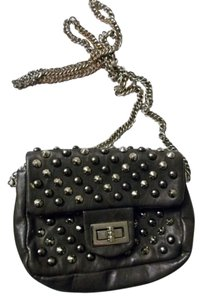 Other Studs Spikes Shoulder Faux Leather Cross Body Bag