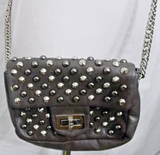 Other Studs Spikes Shoulder Faux Leather Cross Body Bag Image 2