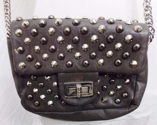 Other Studs Spikes Shoulder Faux Leather Cross Body Bag Image 4