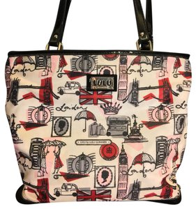 Lulu Guinness Tote in Ivory Black