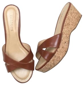 Talbots Brown Wedges