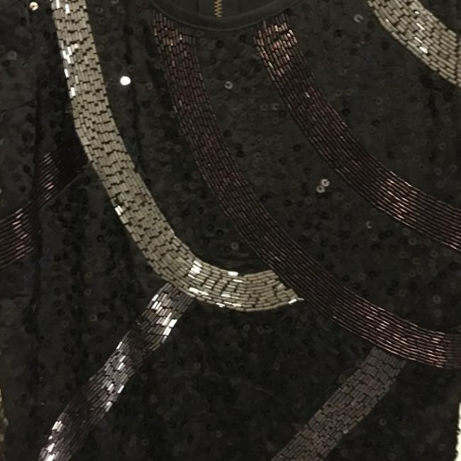 Guess Sequin Beaded Sleeveless Dress Image 8