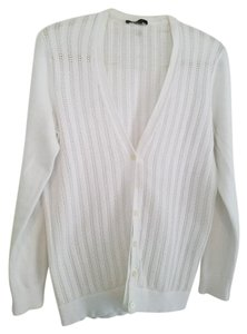 Lands' End V-neck Pointelle Cardigan