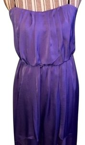 City Triangles short dress Lilac on Tradesy