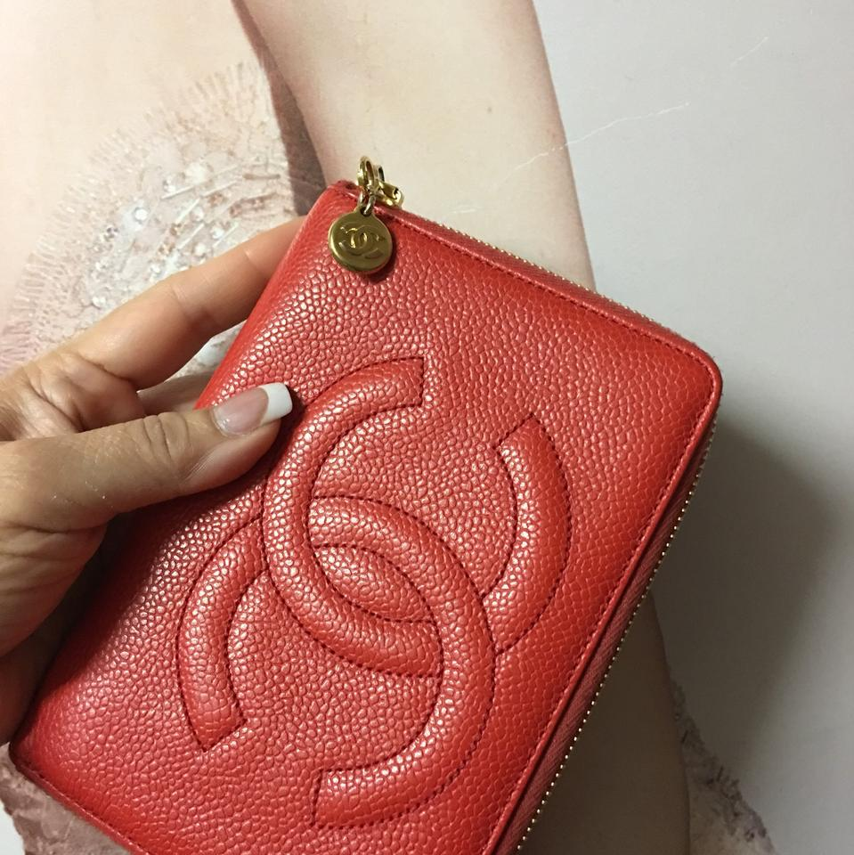 17417c121cb0 Chanel Chanel Vintage Jumbo Long Caviar Zippy Wallet Clutch Image 0 ...