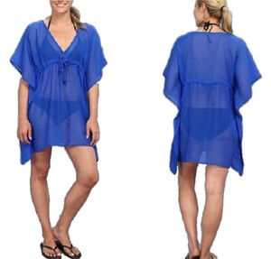 Echo New Echo Design Beach Cover Up Blue One Size Fits All