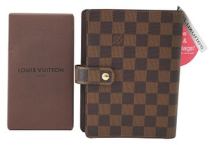 Louis Vuitton Authentic Louis Vuitton Damier Agenda MM Day Planner Cover