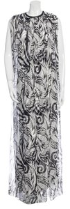 Black and White Maxi Dress by Thomas Wylde