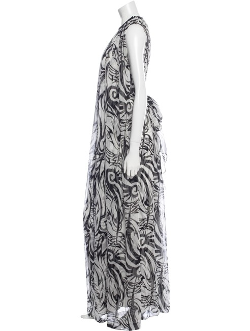 Black and White Maxi Dress by Thomas Wylde Image 1
