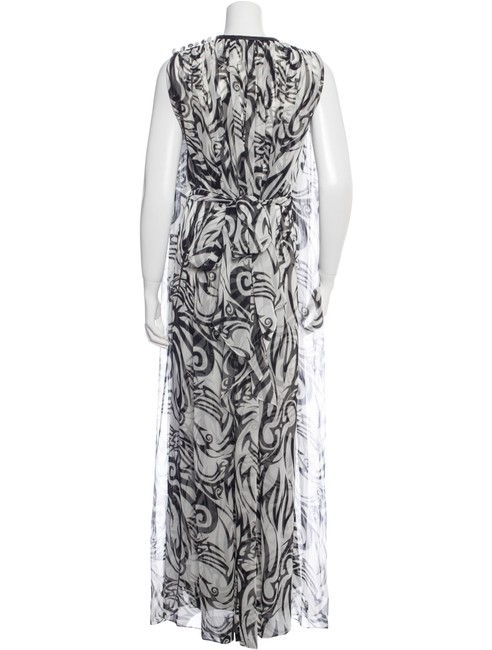 Black and White Maxi Dress by Thomas Wylde Image 2