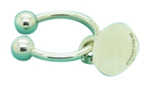 Tiffany & Co. Tiffany & Co. Round Tag Key Ring in Sterling Silver, Small