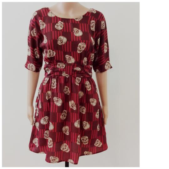 85%OFF Xhilaration Burgundy Dress