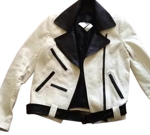 A.L.C. Off white Leather Jacket