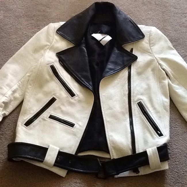 A.L.C. Off white Leather Jacket Image 1