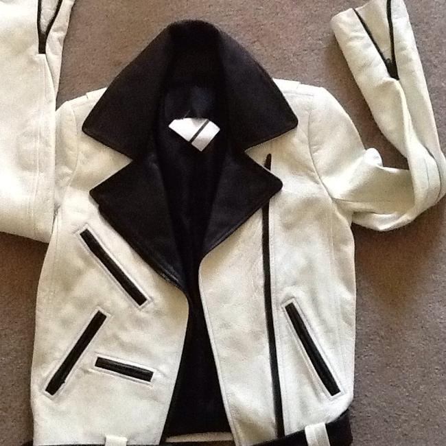 A.L.C. Off white Leather Jacket Image 3