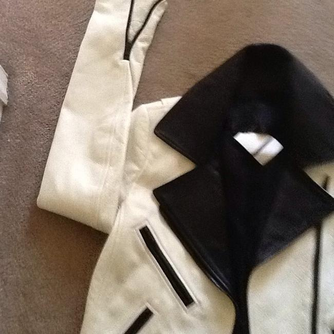 A.L.C. Off white Leather Jacket Image 4