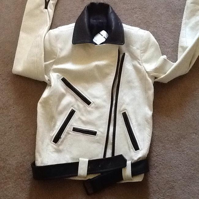 A.L.C. Off white Leather Jacket Image 6